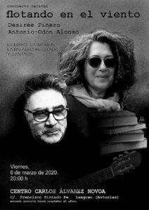 "Noche de poesía: Toño Odón y Desirée Piñero @ Centro de Creación Escénica ""Carlos Álvarez-Nòvoa"""