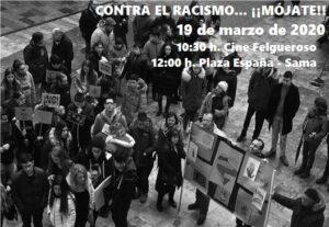 Contra el racismo... ¡mójate! @ Cine Felgueroso y Plaza España
